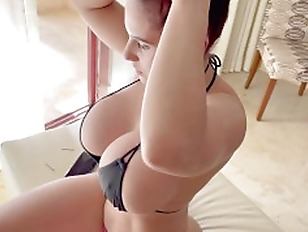 Busty Amateur MILF With Big Ass Bouncing On Cock