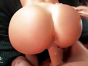 Hot Big Booty Blonde Rides Cock With Cumshot