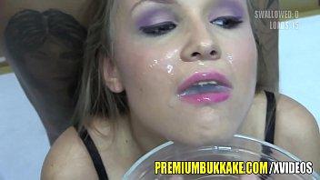 Sexy Cum Slut Swallows Huge Loads Of Jizz