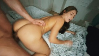 POV Mexican Pussy Filled And Drilled