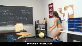 Naughty Teen XXX Pussy Fucking And Volley Ball In Classroom