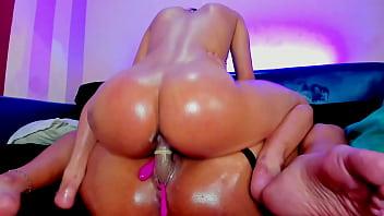 Steamy Amateur Big Booty Lesbian Webcam Girls Riding Dildo