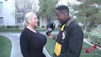 Big Tits Blonde Interracial Fuck Slut Creampie BBC