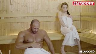 Horny Petite Teen Hottie Fucked In The Sauna